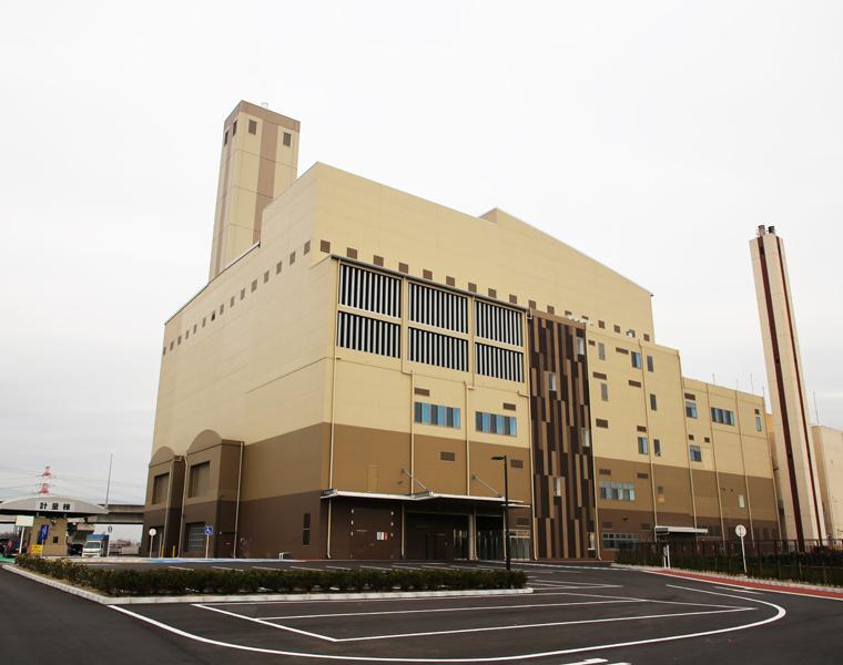 東部知多衛生組合 ごみ処理施設建設工事(共同企業体)