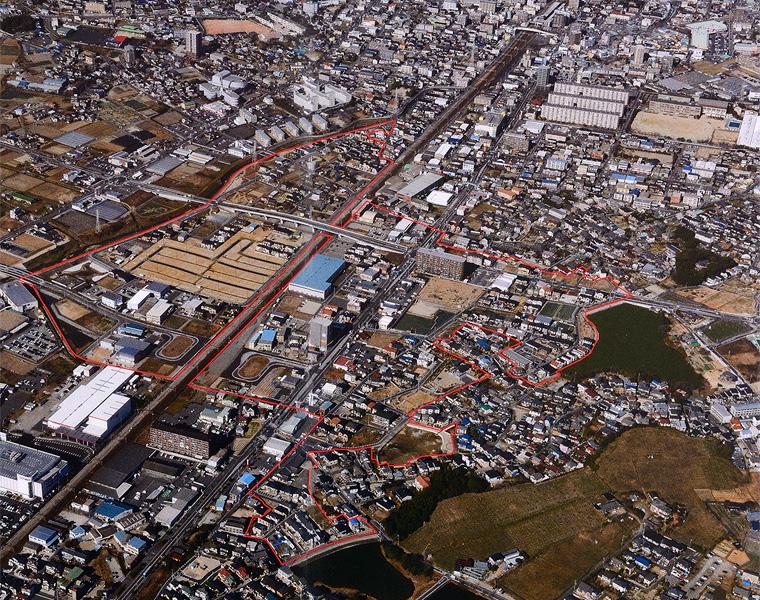 知多都市計画事業 大府一ツ屋土地区画整理事業