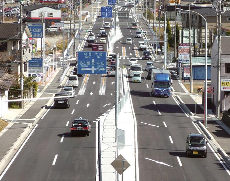 道路改良工事(交付金)一般国道155号